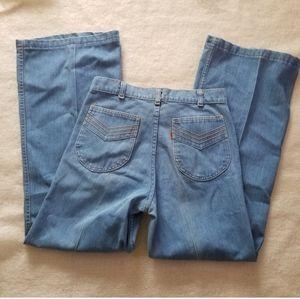 Vintage Levi's action flare disco Jean's slacks 27